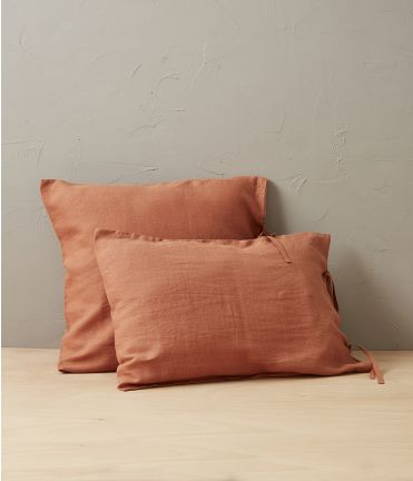 Lin stone washed orange terracotta