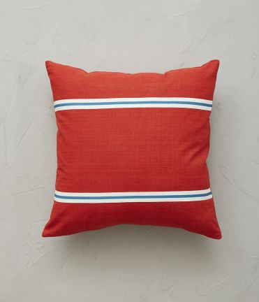 Housse coussin Mountain rouge 45X45 cm
