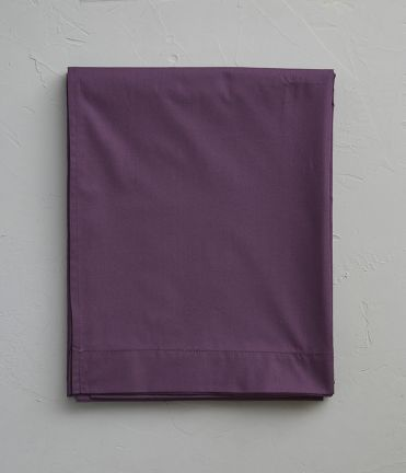 Drap percale violet purple